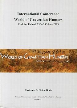 "International Conference ""World of Gravettian Hunters"""